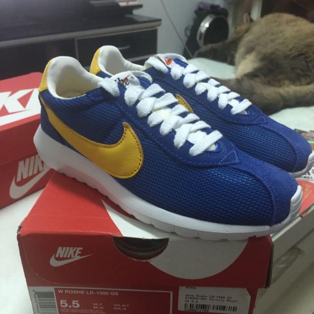 NIKE W ROSHE LD-1000 QS 阿甘鞋 5.5 22.5