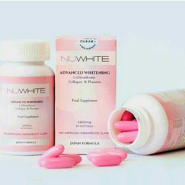 NU White Glutathione Softgels
