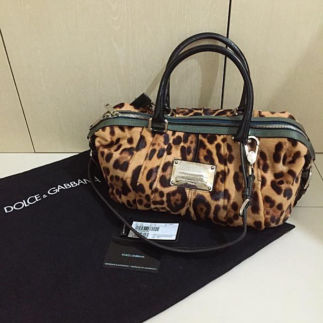 Ori Authentic Dolce&Gabbana Leopard Bag