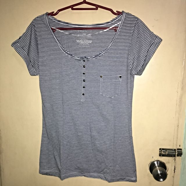 Preloved Penshoppe Blue Top