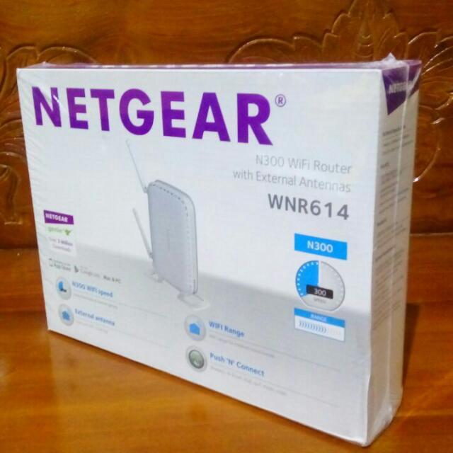 Router Wifi NETGEAR WNR614 150Mbps