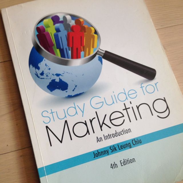 Study Guide For Marketing