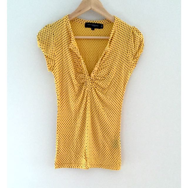 Tokito Yellow Spotted Top