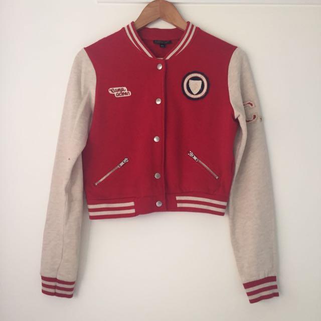 Topshop Varsity Jacket