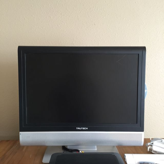 """TRUTECH 19"""" LCD TV+DVD+PC Monitor *GREAT CONDITION*"""