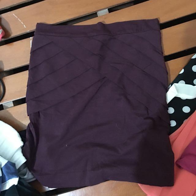 Rue21 Violet Bandage Skirt