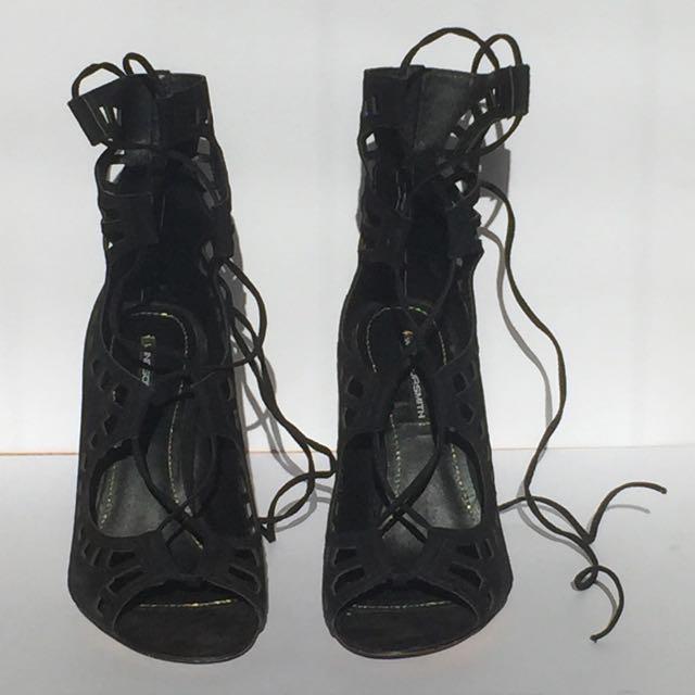 Windsor Smith Black Heel