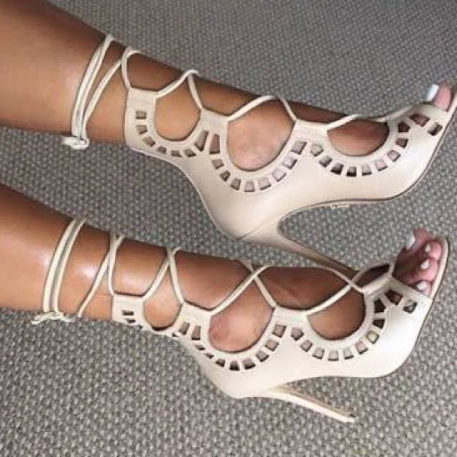 Windsor Smith Lace Up Heels