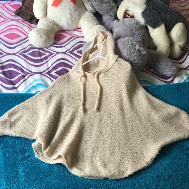 Woollen Poncho