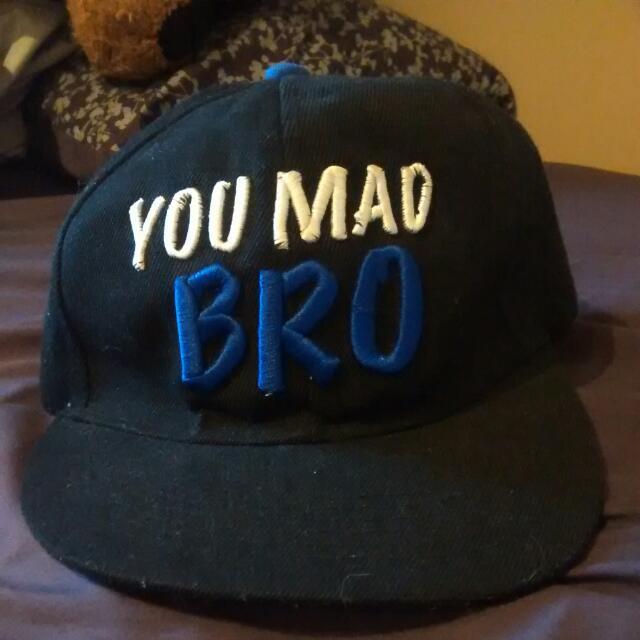 """""""You Mad Bro"""" Snapback"""