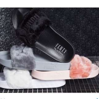 ✨Puma X Rihanna Fenty Faux Fur Slide for Sale!!!✨
