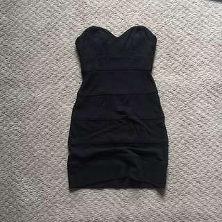 Talula Black Body Con Dress