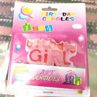 Lilin Birthday Girl