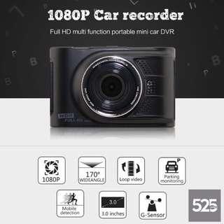 "1080P Full HD Car Recorder 3.0 inch Car DVR Dash Camera FH03 Tachograph G-Sensor 170"" Wide Angle"