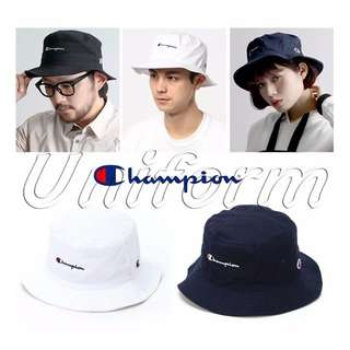 Champion 2016 刺繡 漁夫帽 HUF ADIDAS Supreme MADNESS AAPE 老帽 勾 AJ