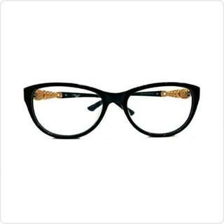 Kacamata Wanita Full Frame Catseye Woman Eyeglasses Full Frame Black