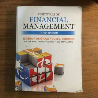 Essential of Financing Management 3版