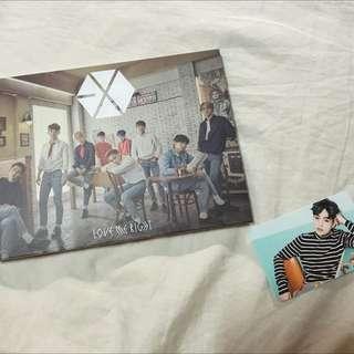 EXO Love Me Right (含Xiumin小卡)