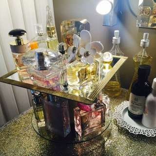 Gorgeous Rotating Perfume Holder/display