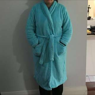 Light Blue Dressing Gown