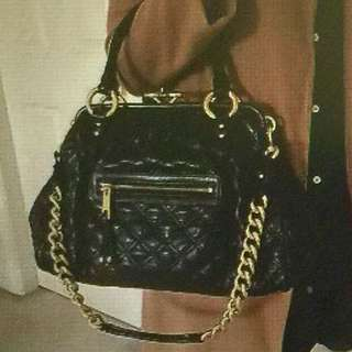 Authentic Marc Jacobs Stan Quilted Leather Satchel