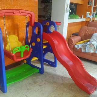 --SOLD -- 3 In 1 Slide Good As New