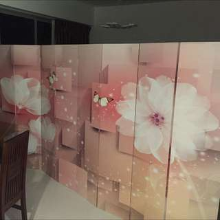 3D Screen Partition (Room divider)