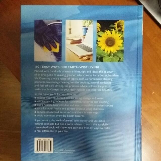 1001 Easy Ways For Earth Wise Living