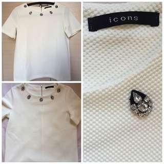 Icons Blouse White
