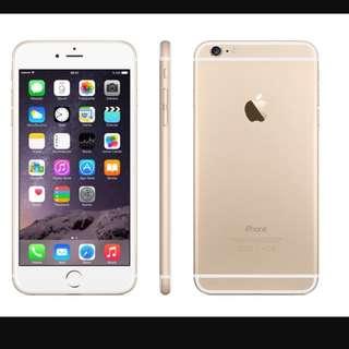 IPHONE 6 64GB GOLD!