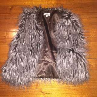 Small Fake Fur Vest