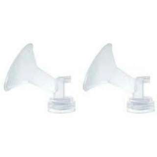 A Pair Of Spectra 28mm Flanges With 2 Wide Neck Bottles