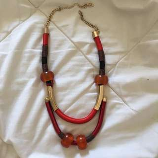 Stradivarius Statement Necklace