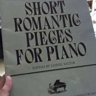 Piano Book 鋼琴書