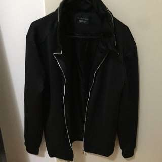 Zara Neoprene Jacket Small