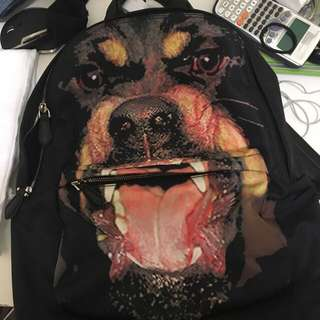 Givenchy Rottweiler Print Backpack