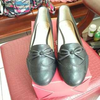 Sonia低跟尖頭牛津鞋