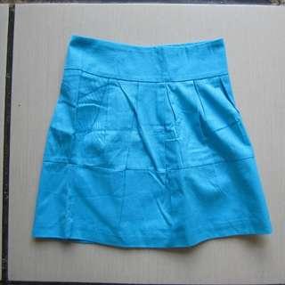Cyan Skirt ukuran S