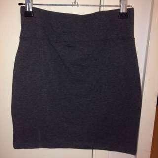 Tight Grey Skirt