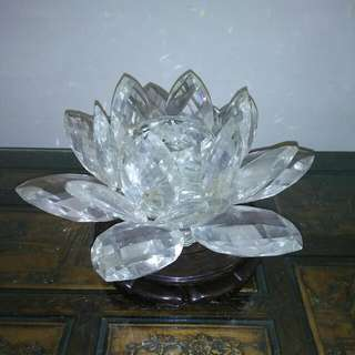 Large Glass Lotus