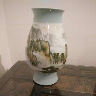 Vase With Painting NEGOTIABLE
