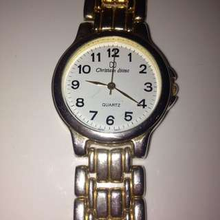 Pretty Gold Watch