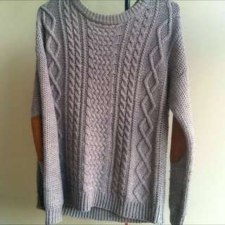 Knitted Jumper Size 8, Also Fits 6/10