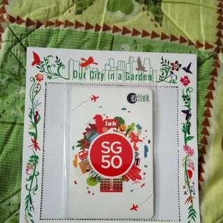 SG50 NDP Lah Ezlink