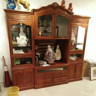 Rosewood TV Cabinet NEGOTIABLE