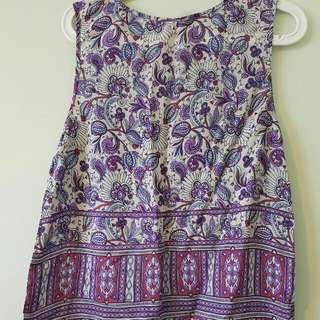 Rip Curl Paisley Top, Size 10