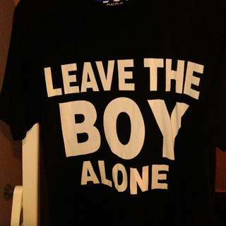 Original Boy T-shirt Made In The USA Size Large