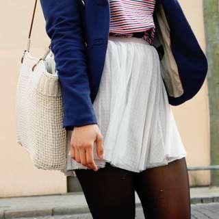 Mini Tulle Skirt