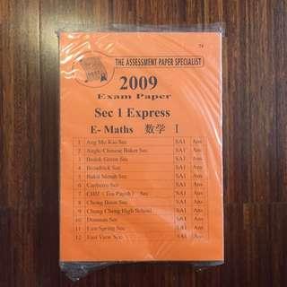EXAM PAPER sec 1 Express (Singapore)