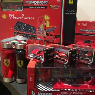 SHELL Ferrari Complete Set Collection